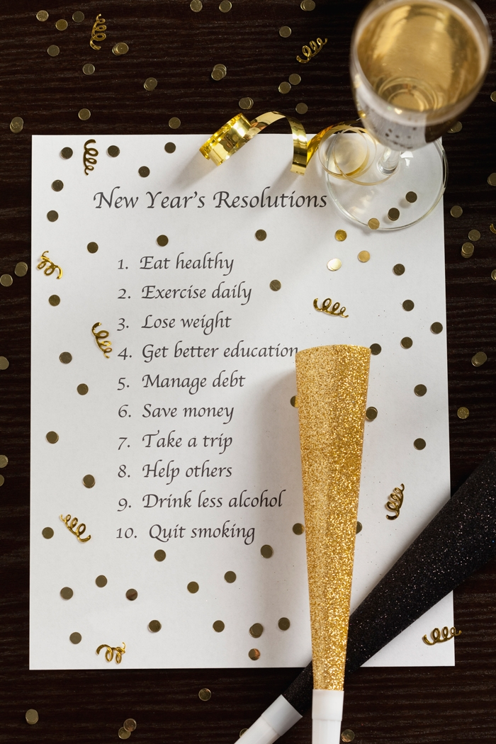 I want to hear your resolutions!