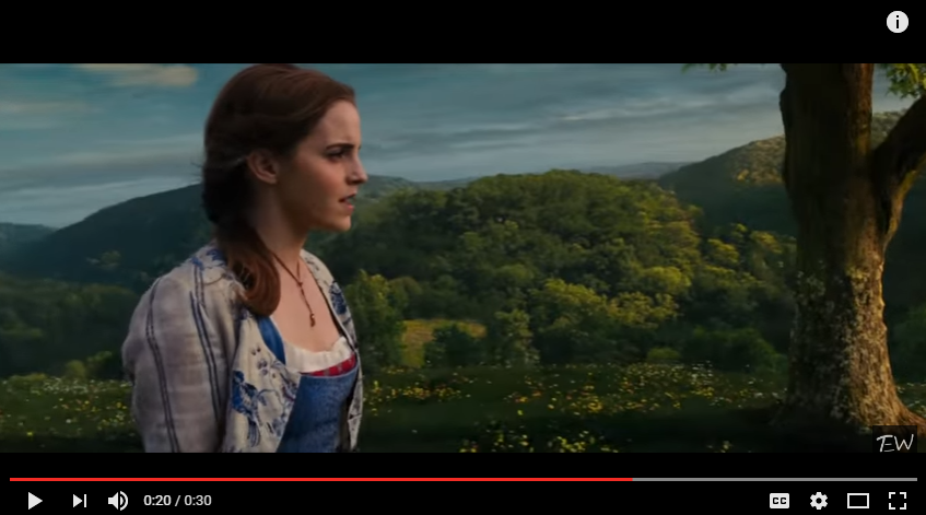"The First Glimpse Of Emma Watson Singing As Belle In ""Beauty & The Beast"" - WATCH"