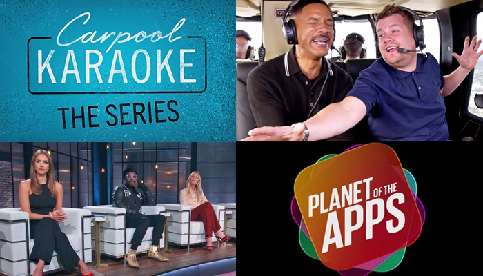 "APPLE MUSIC goes Reality TV with ""Carpool Karaoke"" & ""Planet Of The Apps"" [WATCH]"