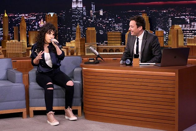 ALESSIA CARA does musical impressions on Jimmy Fallon [WATCH]