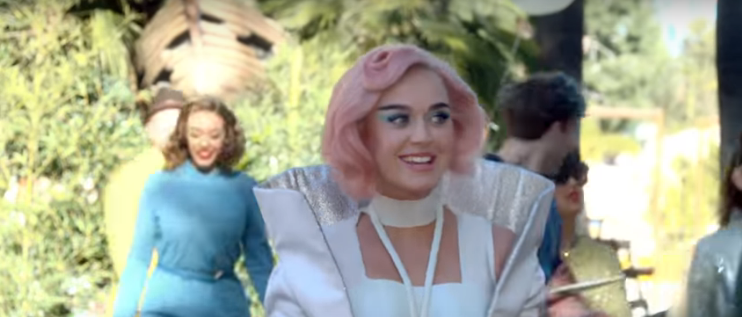 "Wanna see Katy Perry run on a hamster wheel?! WATCH: The new music video for Katy Perry ""Chained To The Rhythm""!"