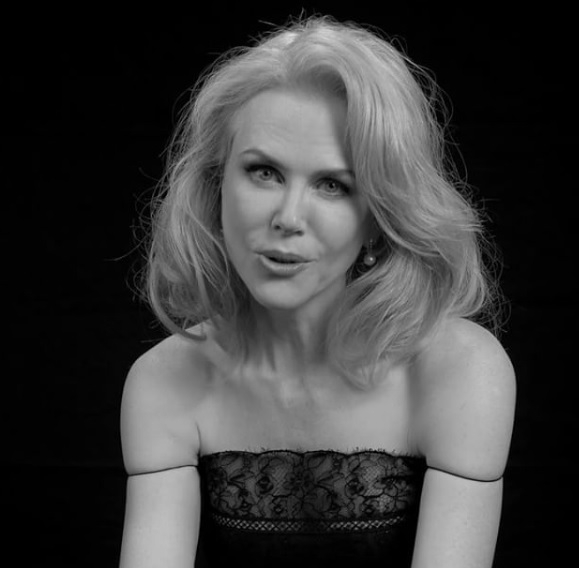 "WATCH:Nicole Kidman Had Her First Kiss while Watching ""The Shining"""