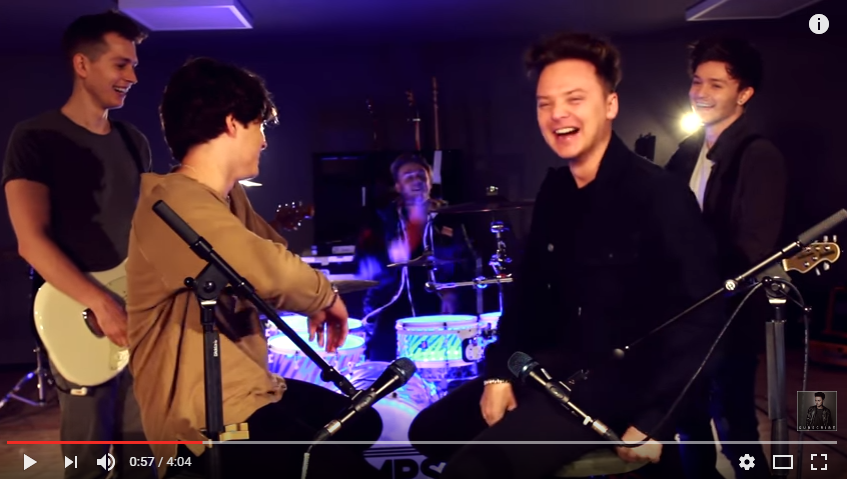The Vamps Team Up With Conor Maynard To Sing Some Of Your Favourites In The Tune Of Ed Sheeran - WATCH