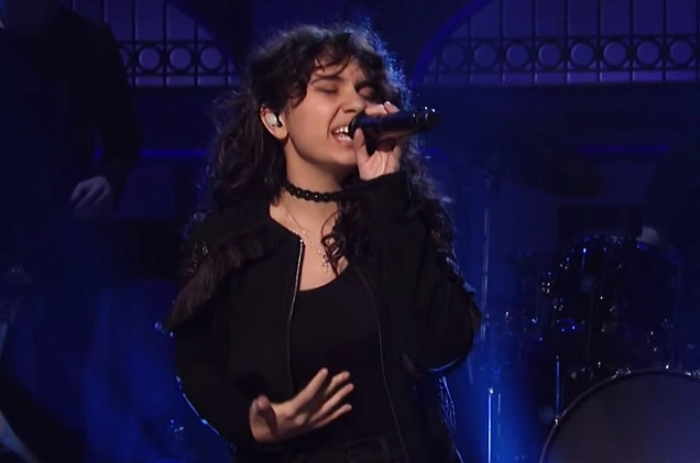 ALESSIA CARA's performance on SNL Last Night! [WATCH]