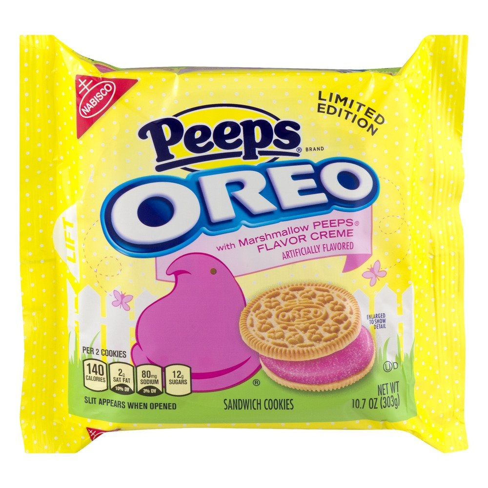 "WOULD YOU TRY... ""Peeps"" flavored OREO'S???"