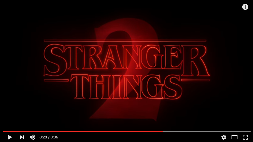 """ICYMI There Was A Creepy, Yet AWESOME 'Stranger Things 2"""" Trailer Released Last Night - WATCH"""