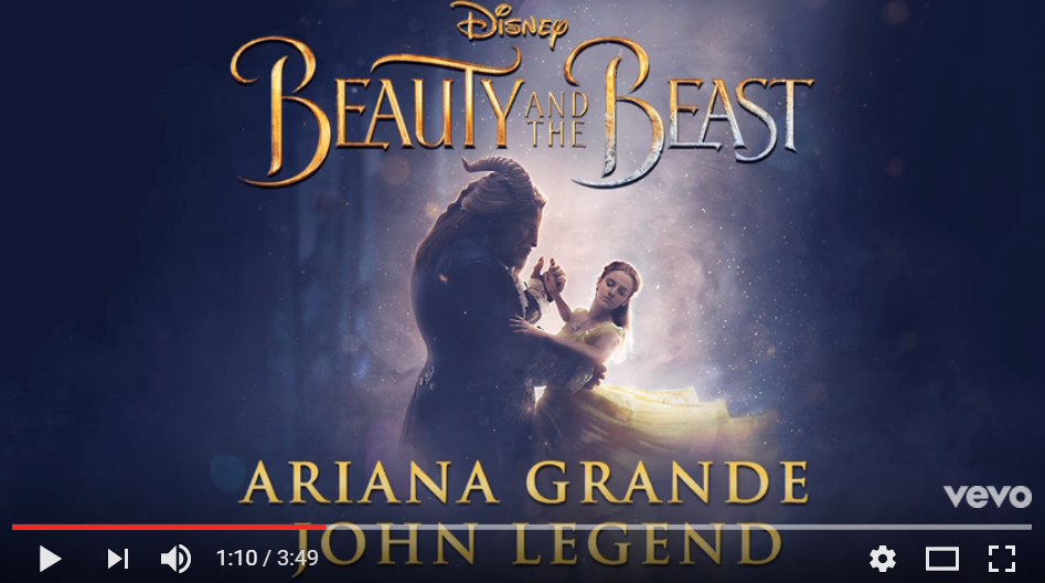 You Can Hear Ariana Grande & John Legends' 'Tale As Old As Time' In It's Entirety - HERE