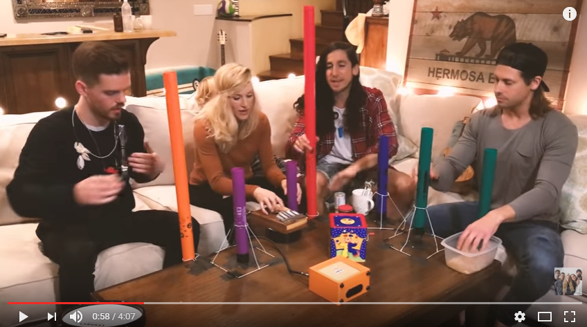Walk Off The Earth Cover 'Shape of You' Using Forks & Children's Toys - WATCH
