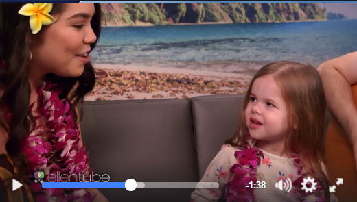 Adorable Youtube Father & Daughter Have A Sing-A-Long With Princess Moana - WATCH