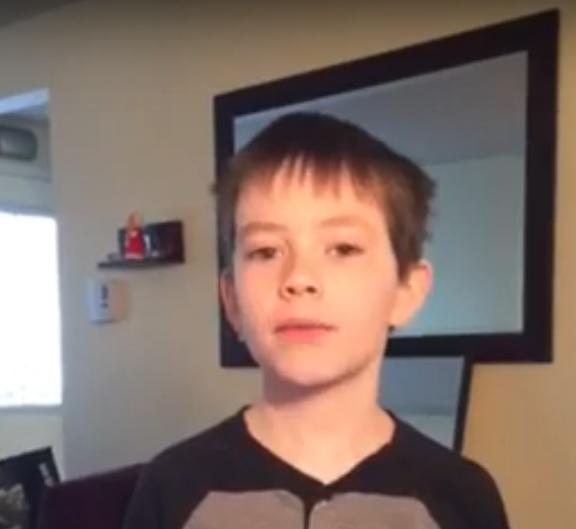 March Break Kid Co-Host #1:Ayden!
