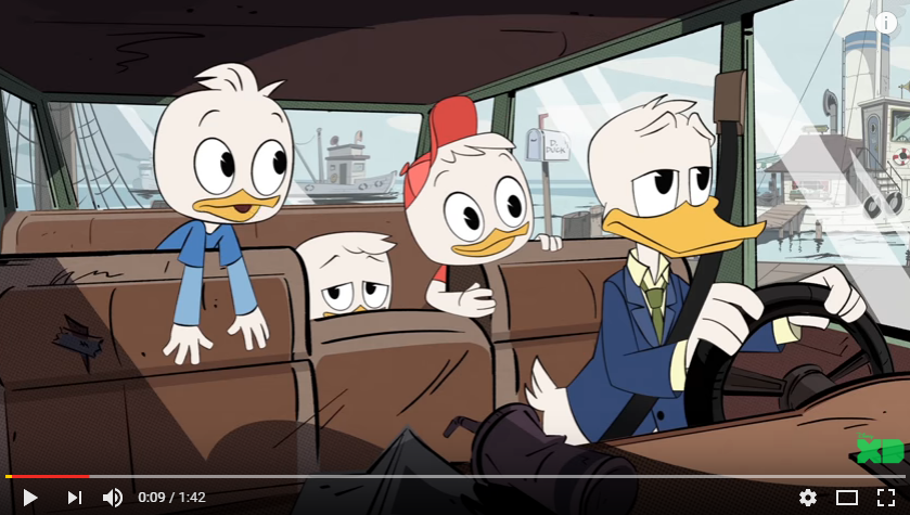 Your first look at the all new DuckTales!