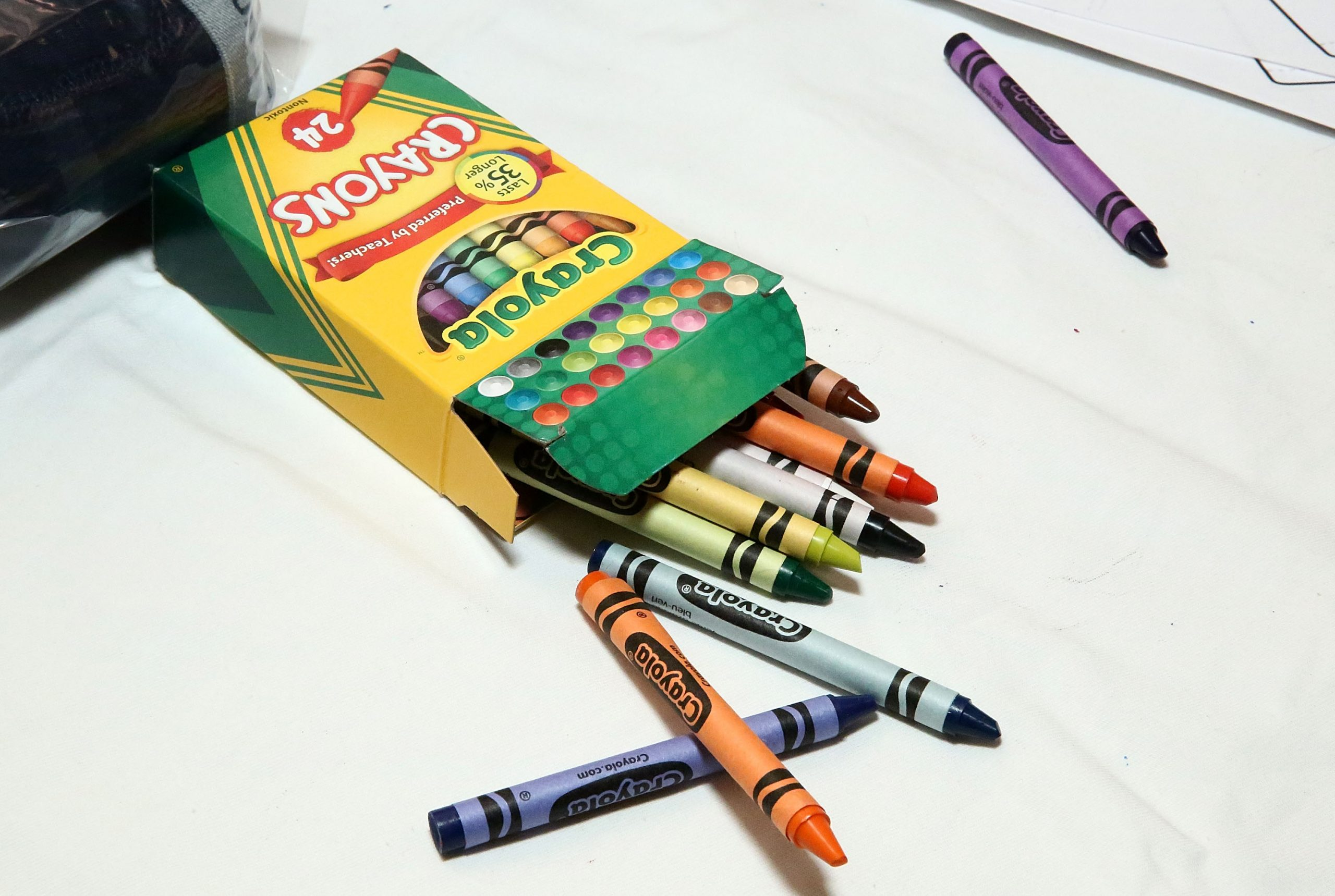 Crayola is retiring this crayon color today