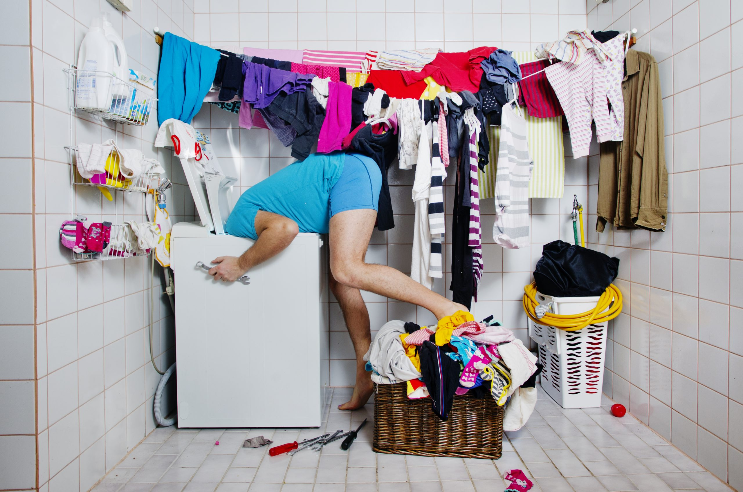 How often do you wash your bras, jeans or sheets?...