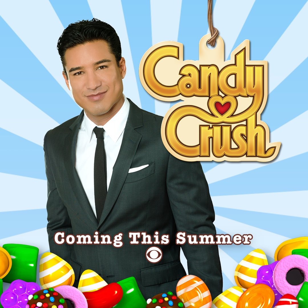 Mario Lopez will host a CANDY CRUSH Game Show?