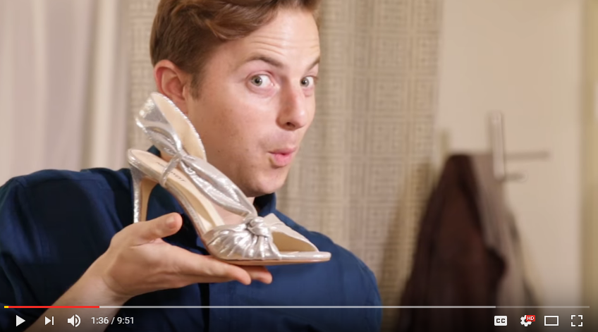 The Try Guys Experience A 'Girls Night Out' On The Town, Wearing Heels!! - WATCH