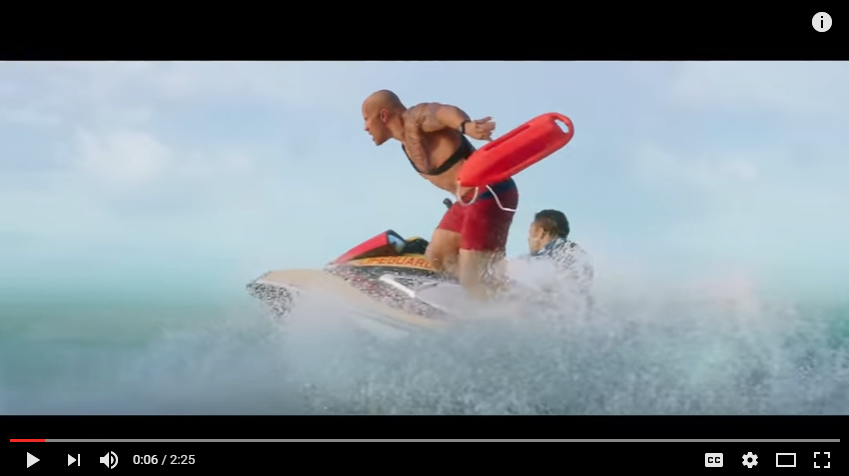 Check Out The New Trailer For The BAYWATCH Movie - WATCH