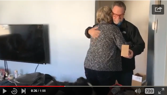 Parents Have Adorably Cute Reaction To Finding Out They'll Be Grandparents - WATCH