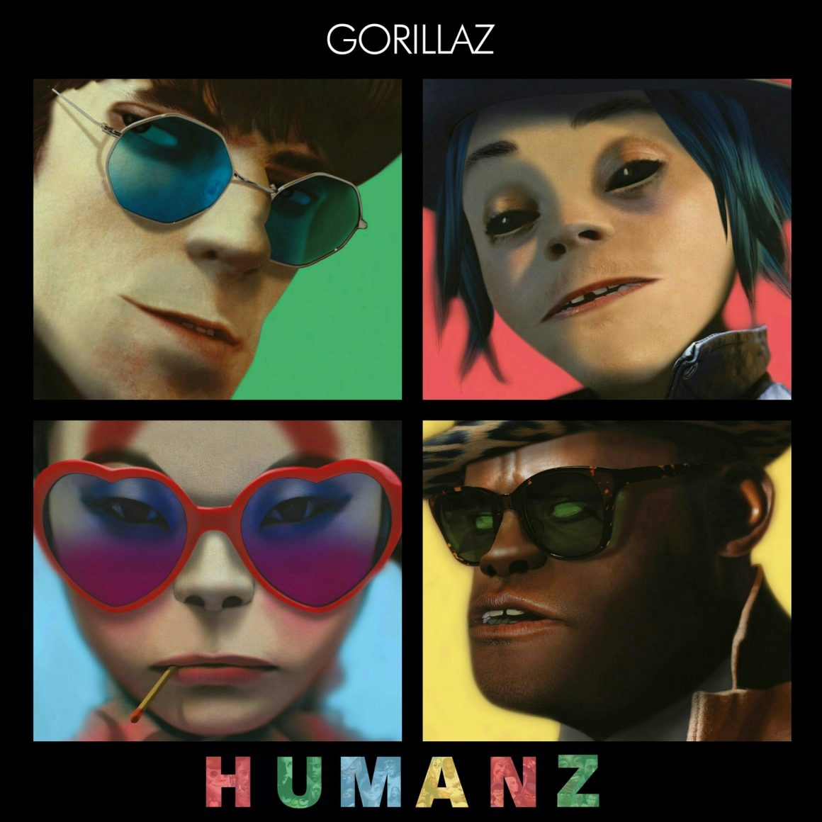 "GORILLAZ announce the release of new album ""Humanz"""