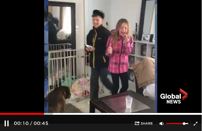 Alberta Kids Burst Into Tears After Being Surprised With A Puppy - WATCH