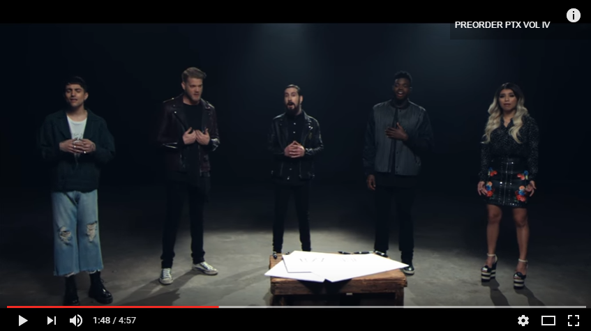 Pentatonix Covers John Lennon's 'Imagine' In Stunning New Video - WATCH