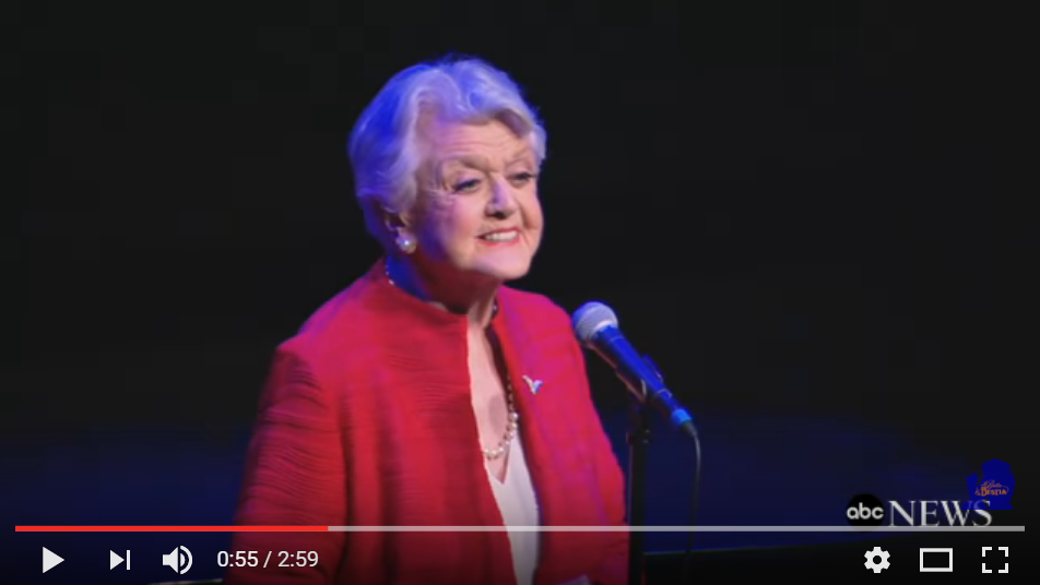 Original Mrs. Potts Angela Lansbury Sings The Timeless Beauty And The Beast Classic - WATCH