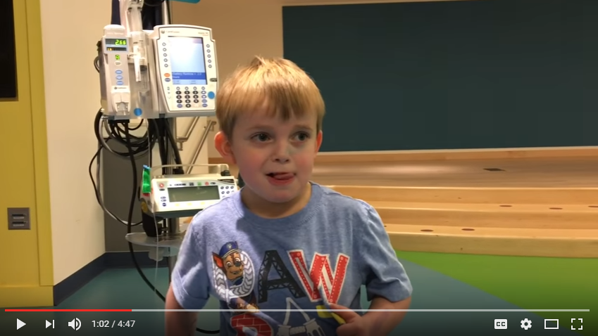 Amazing Moment 5 Year Old Ari Learns He's Getting A New Heart - WATCH