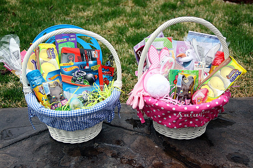 Tips on How to NOT Go Overboard With Your Kid's EASTER Baskets