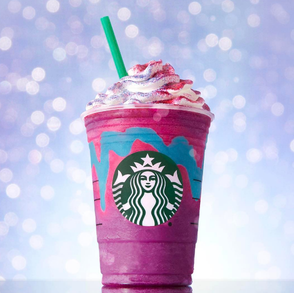 WATCH:Unicorn Frappucino's are making this barista LOSE HIS MIND!