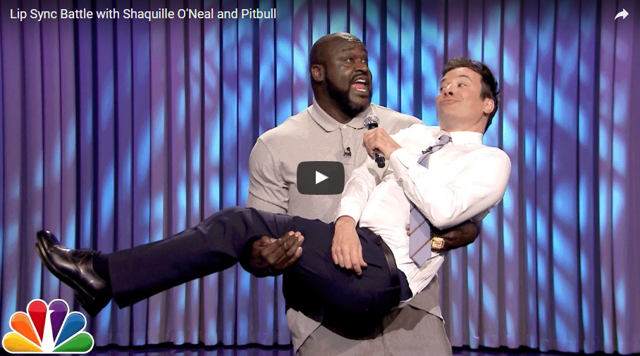 FALLON vs. SHAQ: Lip Sync BATTLE [WATCH]