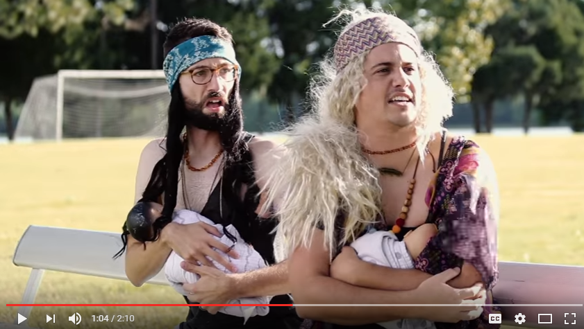 Husbands Of Health Nut Wives Act Them Out In Hilarious Parody - WATCH