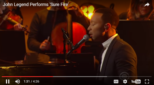 John Legend makes mundane things SEXY [WATCH]