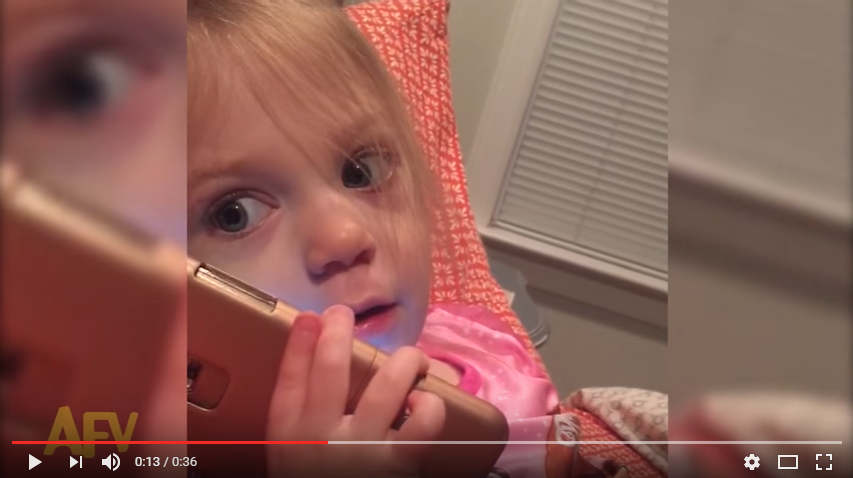 Little Girl Leaves Hilarious Voicemail On Grandma's Phone - WATCH