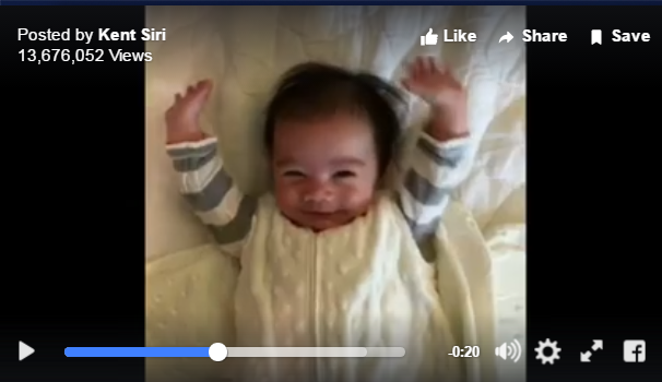 Babies Adorable Wake Up Routine Goes Viral For Good Reason - WATCH