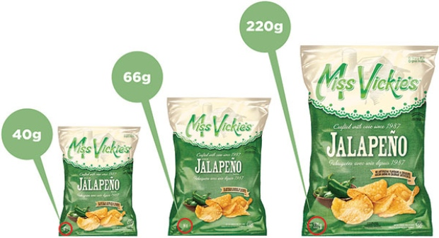 Miss Vickie's RECALLS jalapeno-flavoured, kettle-cooked chips for possible SALMONELLA