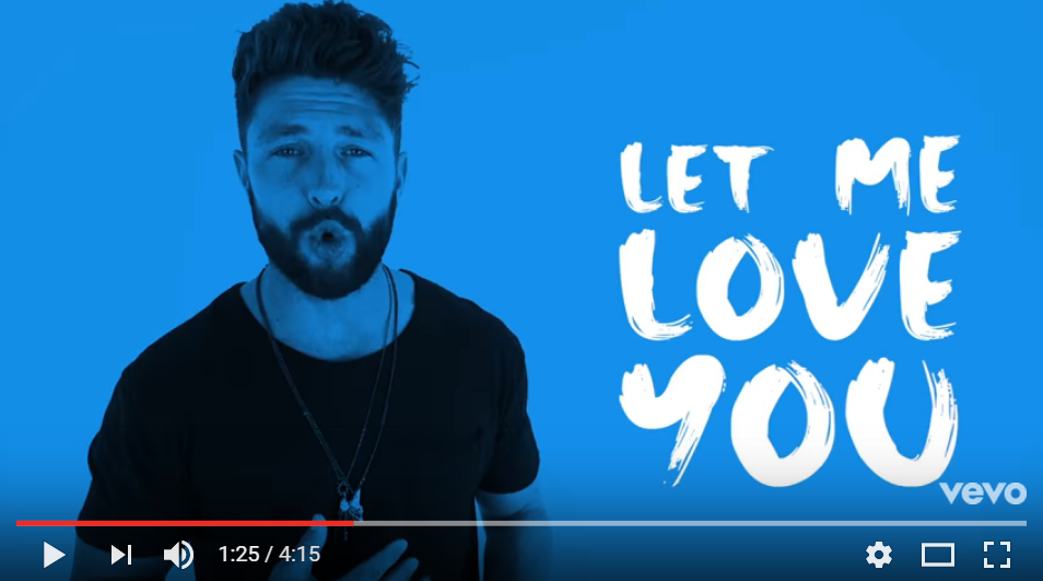 Chris Lane Puts Country Spin On Mario's Classic 'Let Me Love You' - WATCH