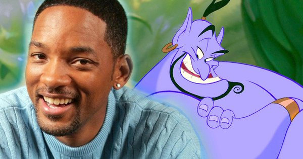 "WILL SMITH In Talks For ""Genie"" Role In Disney's Live-Action 'ALADDIN'"