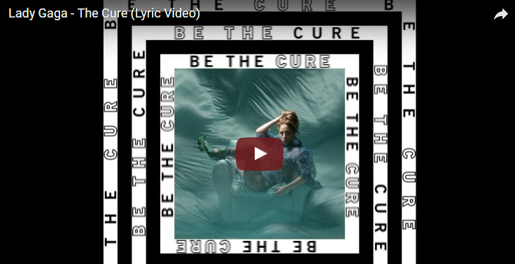 "Lady Gaga debuts her lyric video for ""The Cure"". WATCH"