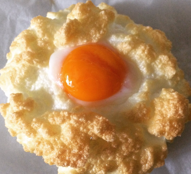 Cloud eggs are the new breakfast trend