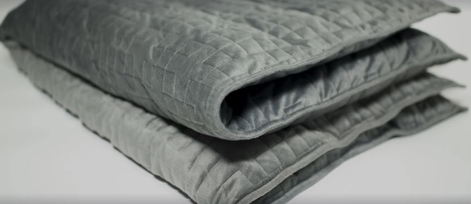 You can now buy a $400 blanket that hugs you and helps you sleep