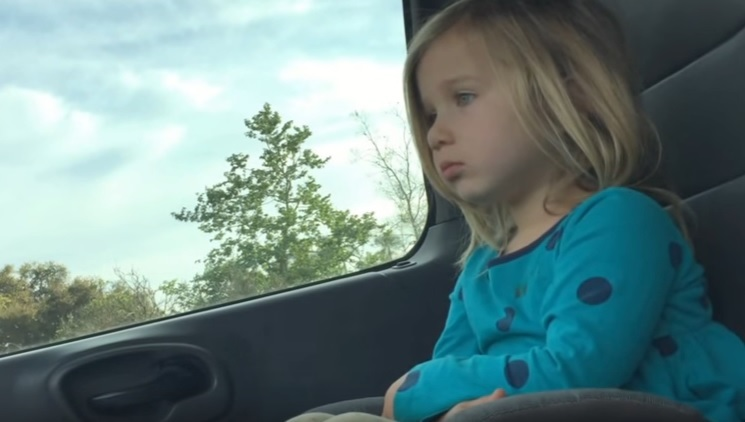 WATCH:This little girl just needs time to chill