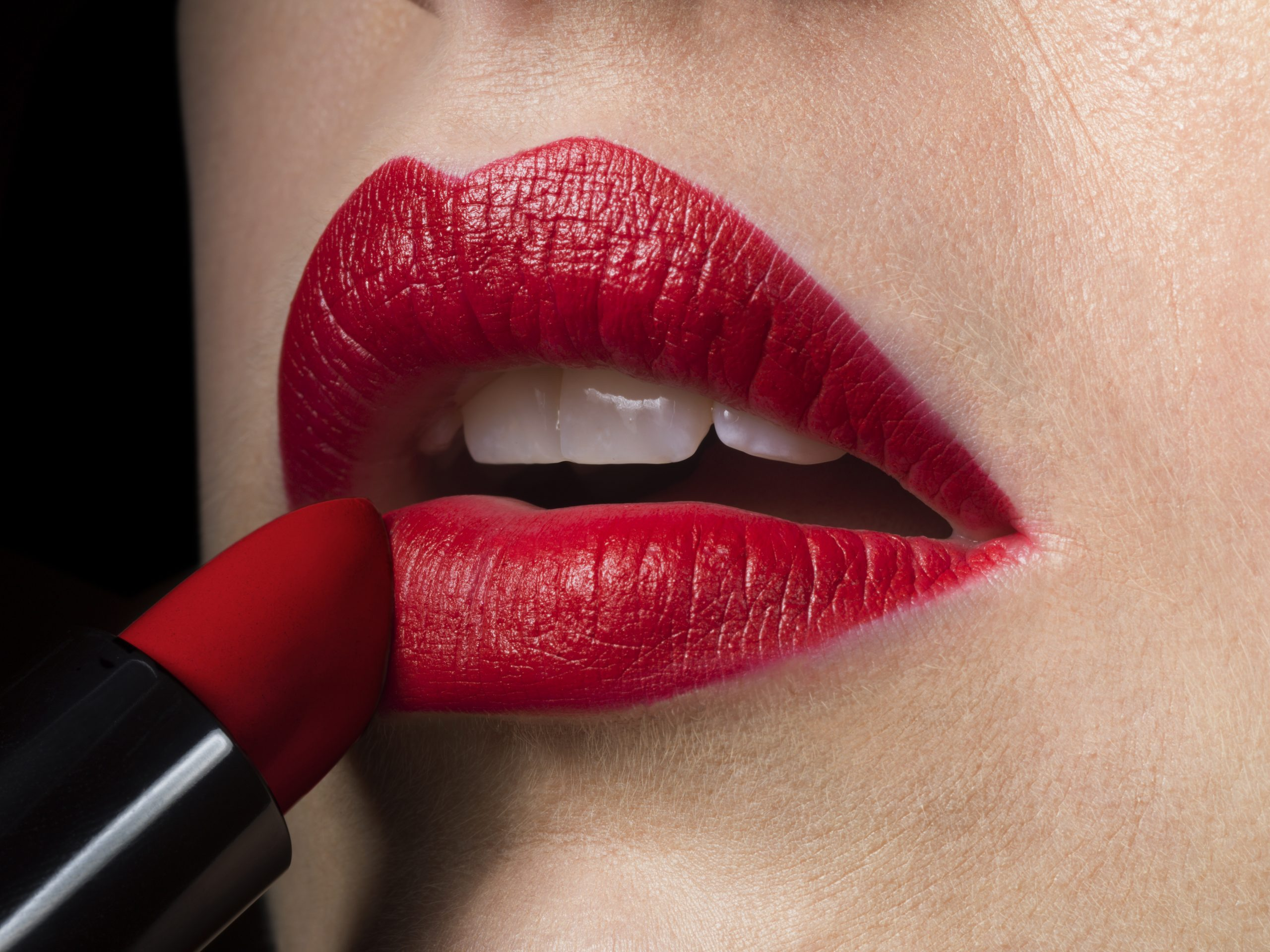 To find the perfect lipstick, check under your shirt!