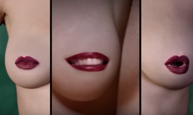 WATCH:Do you hate censored nipples?  Then you'll like these singing boobs
