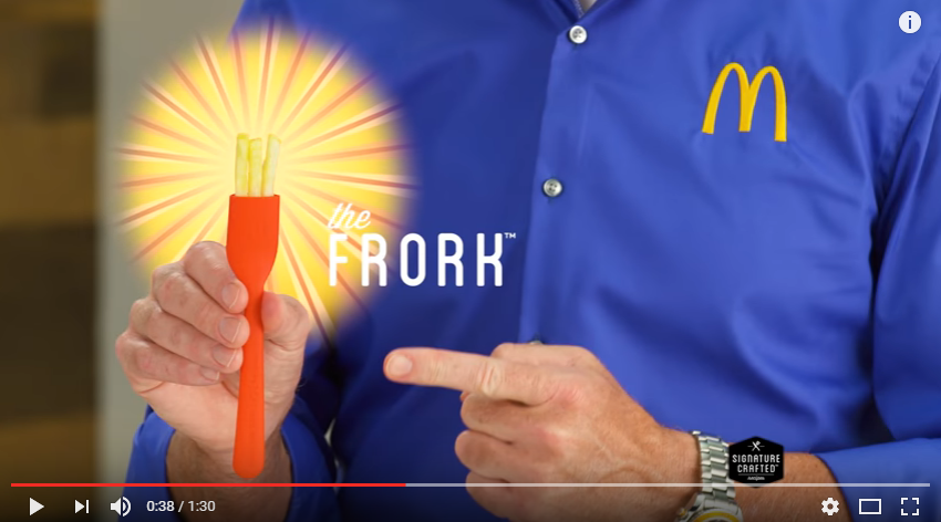 "McDonald's introduces the ""FRORK"" [WATCH]"