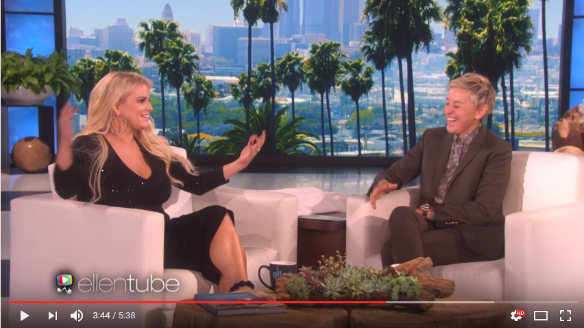 Ellen Has Extremely Awkward Interview With Jessica Simpson - WATCH