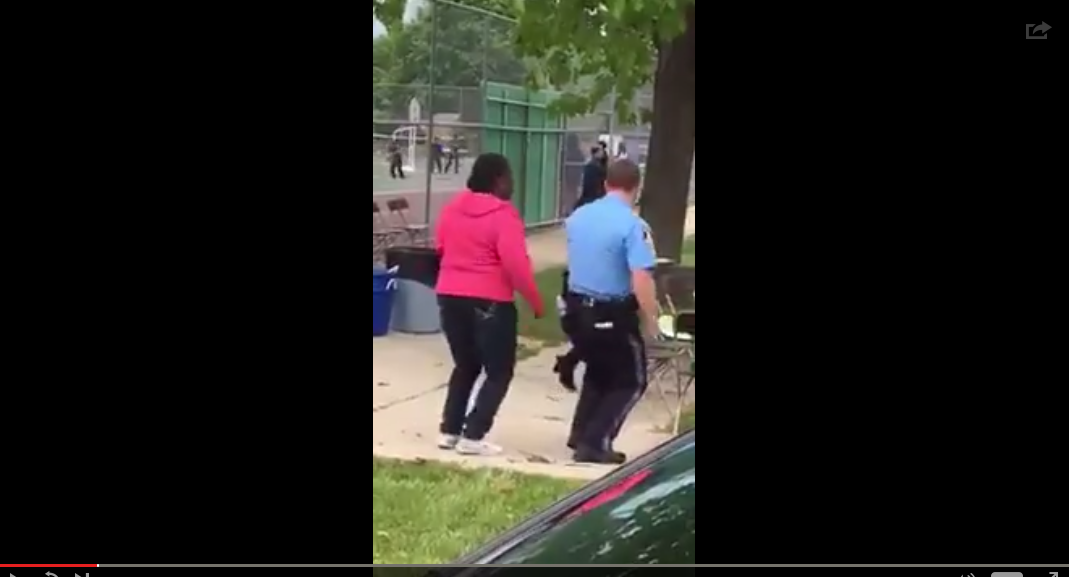Police Officer Nails Dancing The Cupid Shuffle At Community Carnival - WATCH