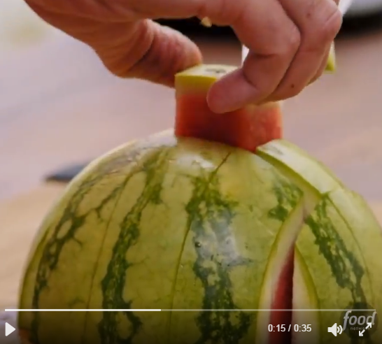 People Are Going Crazy Over A New Trend For Eating Watermelon - WHAT DO YOU THINK?