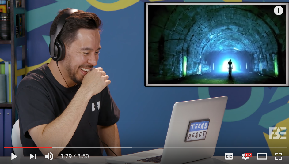 Linkin Park Reacts To Teens Reacting To Linkin Park - WATCH