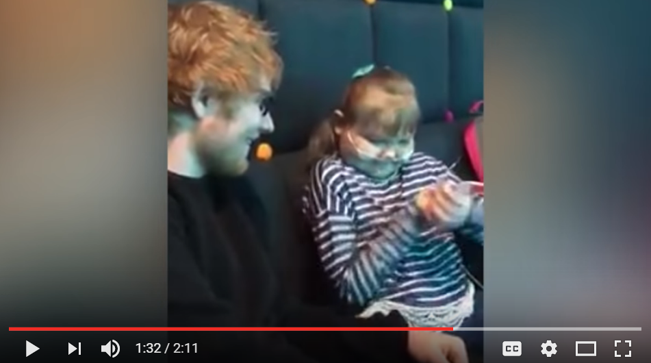 Ed Sheeran Performs Private Concert For Sick Super Fan - WATCH