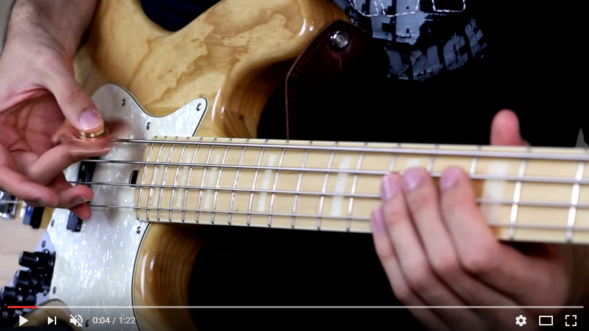 So Cool: Guy Uses Fidget Spinner To Play The Bass Guitar - WATCH