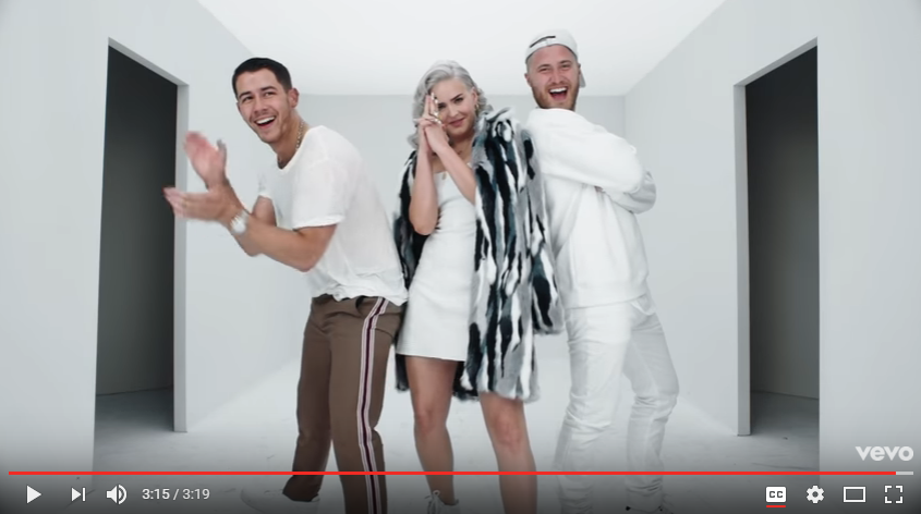 "Nick Jonas, Mike Posner & Anne Marie are having the time of their lives in ""Remember I Told You"" video. WATCH"